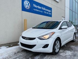 Used 2013 Hyundai Elantra GLS AUTO - HEATED SEATS / ALLOYS for sale in Edmonton, AB