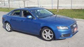 Used 2009 Audi A4 Quattro, Auto, 4 door, Low KM,3/Y Warranty Availab for sale in Toronto, ON