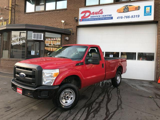 2011 Ford F-250 XL-4X4- 8 FEET BOX*CERTIFIED*
