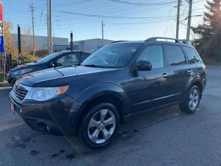 Used 2010 Subaru Forester X Touring, MANUAL, ALLOYS, SUNROOF, POWER GROUP for sale in Ottawa, ON
