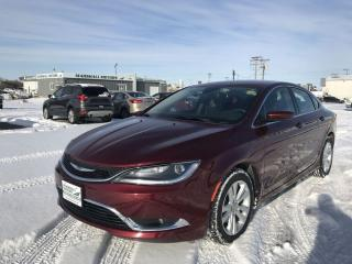 Used 2016 Chrysler 200 4dr Sdn Limited FWD *Heated Seats/Wheel* *Command for sale in Brandon, MB