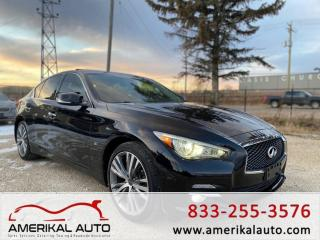 Used 2014 Infiniti Q50 Premium for sale in Winnipeg, MB