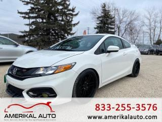 Used 2015 Honda Civic coupe si for sale in Winnipeg, MB