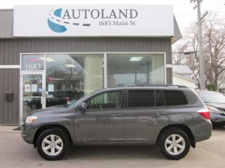Used 2009 Toyota Highlander V6 for sale in Winnipeg, MB
