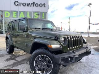 New 2021 Jeep Wrangler Sport 80th Anniversary Edition for sale in Calgary, AB