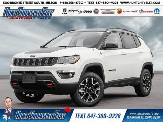 New 2021 Jeep Compass TRAILHAWK | 4X4 | CAM | HTD STS | CARPLAY & MORE!! for sale in Milton, ON