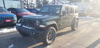 New 2021 Jeep Wrangler Unlimited Sport 80th Anniversary for sale in New Hamburg, ON