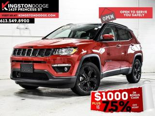 New 2021 Jeep Compass Altitude | Leather Seats | Sunroof | Nav | Power L for sale in Kingston, ON
