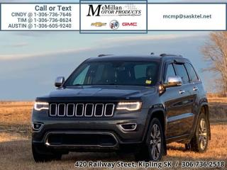 Used 2018 Jeep Grand Cherokee Limited  4X4,HEATED LEATHER SEATS,SUNROOF,NAV,REAR for sale in Kipling, SK