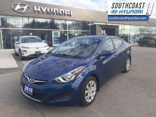 Used 2016 Hyundai Elantra GL  - Heated Seats - $80 B/W for sale in Simcoe, ON