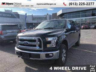 Used 2016 Ford F-150 XLT  CREW CAB, 4X4, 3.5 V6, ALLOYS, TRAILER PACK, XLT for sale in Ottawa, ON