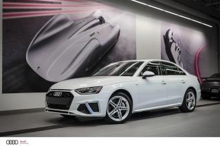 Used 2020 Audi A4 PROGRESSIV - 2.0 TFSI - QUATTRO AWD for sale in Sherbrooke, QC