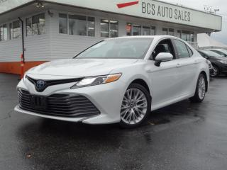 Used 2018 Toyota Camry HYBRID One Owner, No Accidents, EXL Hybrid, Navigation for sale in Vancouver, BC