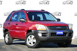 Used 2006 Kia Sportage LX | 4WD | 2.0L I4 ENGINE | 5-SPEED MANUAL for sale in Kitchener, ON