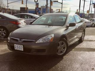 Used 2007 Honda Accord EX-L for sale in Toronto, ON
