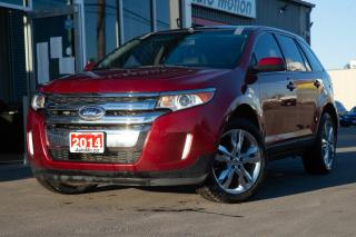 Used 2014 Ford Edge SEL PANORAMIC SUNROOF POWER AND HEATED SEATS BACKUP CAM for sale in Chatham, ON
