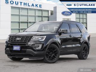 Used 2017 Ford Explorer Sport LEATHER|ROOF|NAV for sale in Newmarket, ON