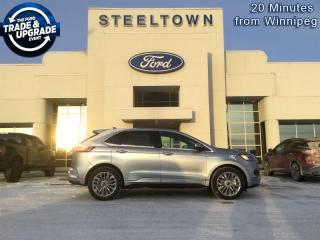 New 2020 Ford Edge Titanium  - Sunroof for sale in Selkirk, MB