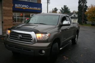 Used 2008 Toyota Tundra Limited  for sale in Nepean, ON