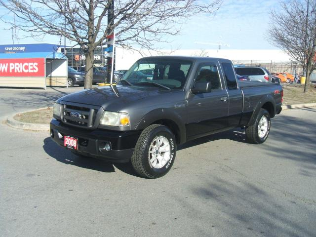 2008 Ford Ranger FX4 OFF ROAD       5 SPEED MANUAL
