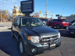 Used 2008 Ford Escape XLT for sale in Windsor, ON