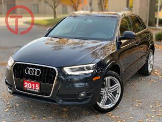 Used 2015 Audi Q3 Progressiv - No Accidents - Full Service History for sale in Burlington, ON