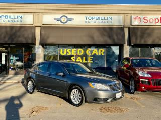 Used 2012 Chrysler 200 LX, Clean CarFax, 2 Years Warranty for sale in Vaughan, ON