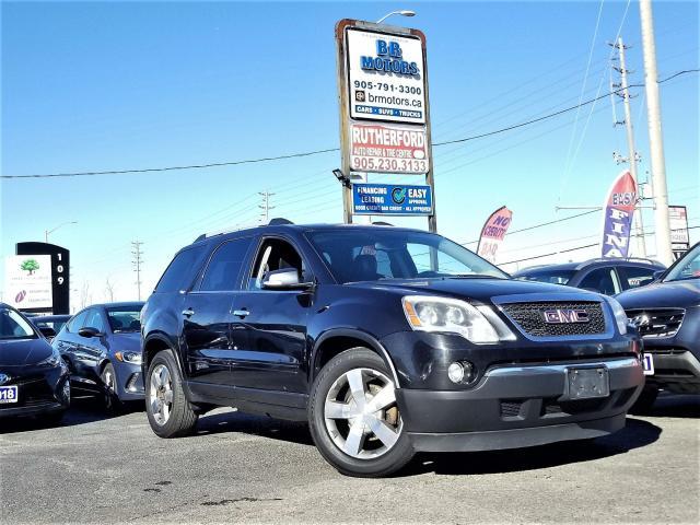2011 GMC Acadia NO accident | 7 Seater | AWD 2 year warranty inclu