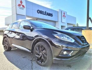 Used 2018 Nissan Murano Midnight Edition for sale in Orléans, ON