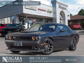 Used 2020 Dodge Challenger R/T LOCAL TRADE for sale in Niagara Falls, ON