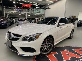 Used 2015 Mercedes-Benz E-Class E550 COUPE AMG  I RED LTHR. I PANO I CLEAN CARFAX for sale in Vaughan, ON