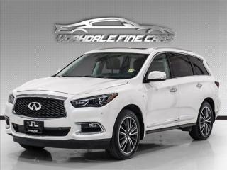 Used 2017 Infiniti QX60 Navigation, DVD, 360 Cam, Panoramic, Heated and Cooled Seats for sale in Concord, ON