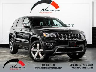 Used 2016 Jeep Grand Cherokee Limited|Navigation|Camera|Sunroof|Heated Leather for sale in Vaughan, ON