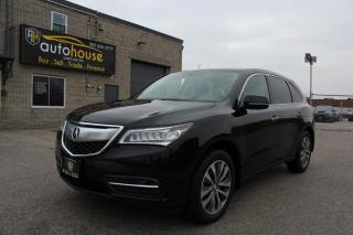 Used 2015 Acura MDX SH-AWD ,NAVI PKG ,LEATHER SEATS ,MOON ROOF for sale in Newmarket, ON