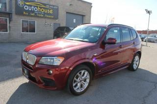 Used 2013 BMW X3 M PKG ,NAVI,BACKUP CAMERA,BIG SUNROOF,POWER TRUNK for sale in Newmarket, ON