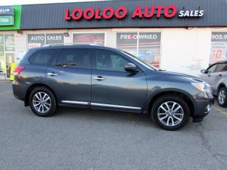 Used 2013 Nissan Pathfinder SL 4WD CAMERA LEATHER BLUETOOTH CERTIFIED for sale in Milton, ON