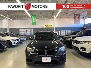 Used 2013 BMW X1 28i AWD|RED LEATHER|PANOROOF|ALLOYS|+ for sale in North York, ON