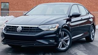 Used 2019 Volkswagen Jetta 1.4T SEL 8A R-LINE|LEATHER|SUNROOF|HEATED SEATS|BLINDSPOT|REMOTE START for sale in Mississauga, ON