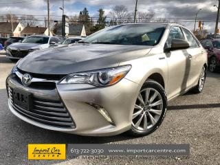 Used 2017 Toyota Camry HYBRID XLE RARE HYBRID XLE!!  LEATHER  ROOF  NAV  JBL SOU for sale in Ottawa, ON
