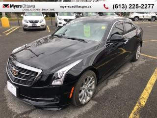 Used 2017 Cadillac ATS Sedan Luxury  AWD, SUNROOF, 2.0 TURBO, 8SPEED AUTO, SPOILER, GROUND EFFECTS PKG for sale in Ottawa, ON
