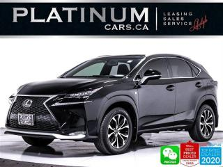 Used 2016 Lexus NX 200t F SPORT, AWD, CAM, HEATED, SUNROOF, BLUETOOTH for sale in Toronto, ON
