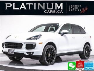 Used 2017 Porsche Cayenne AWD, SPORT CHRONO, NAV, PANO, PREMIUM, HEATED, BT for sale in Toronto, ON
