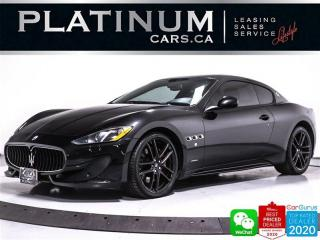 Used 2016 Maserati GranTurismo Sport, 4.7S, 454HP, CARBON INT, BOSE, NAV, CAM, BT for sale in Toronto, ON