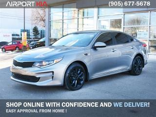 Used 2018 Kia Optima LX+/ No Accident /Heated seats and steering/ Back-up Camera/ Power memory driver seat/ Bluetooth / Push start/Blind Spot indicator for sale in Mississauga, ON