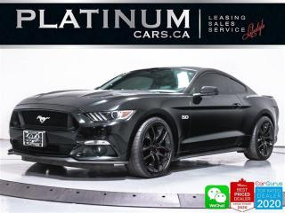 Used 2015 Ford Mustang GT, 435HP, AUTO, PREMIUM, NAV, CAM, VENTILATED, BT for sale in Toronto, ON