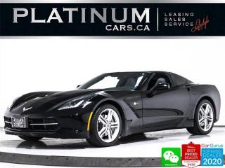 Used 2017 Chevrolet Corvette Stingray, SCISSOR DOOR, 455HP, BACKUP CAM, NAV, for sale in Toronto, ON