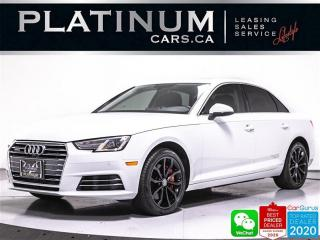 Used 2017 Audi A4 2.0T Quattro Progressiv, AWD, NAV, HEATED, SUNROOF for sale in Toronto, ON