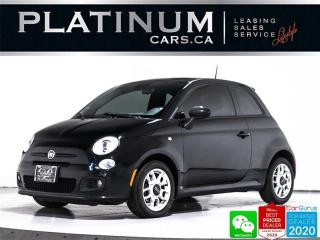 Used 2015 Fiat 500 Sport, AUTOMATIC, BT, POWERED WINDOWS, AC for sale in Toronto, ON