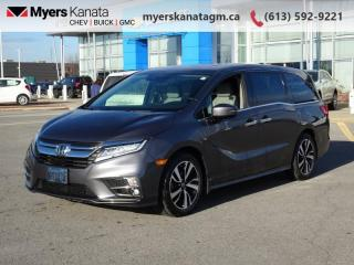 Used 2018 Honda Odyssey Touring  - Navigation -  Sunroof for sale in Kanata, ON