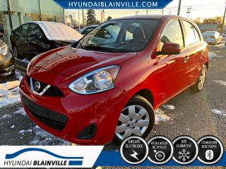 Used 2015 Nissan Micra DÉMARREUR À DISTANCE, BLUETOOTH, A/C, CR for sale in Blainville, QC